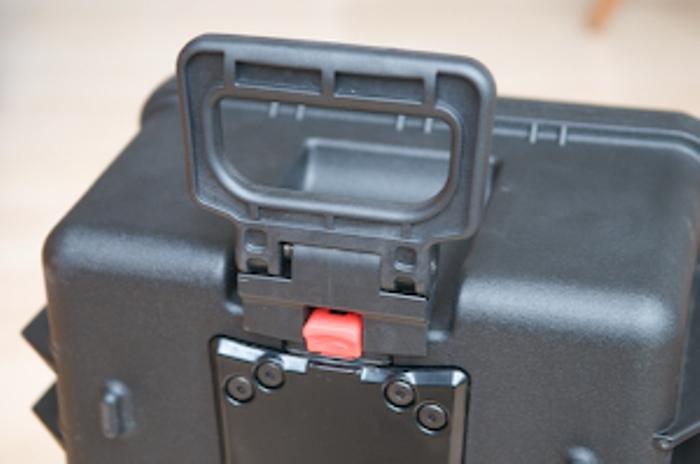 HPRC 25Wheeled Hard Case with Cubed Foam. - B H